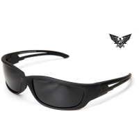 Edge Tactical Eyewear Blade Runner XL - Matte Black Frame / G-15 Lens