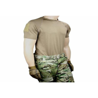 215 Gear Operator's Shirt, V3, Short Sleeve in Coyote