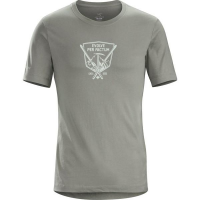 Arc'teryx LEAF EPF Short Sleeve Shirt Men's Tee (2017 Model 20398) in Maverick