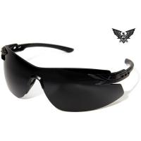 Edge Tactical Eyewear Notch - Matte Black Frame / G-15 Lens