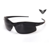 Edge Tactical Eyewear Sharp Edge Thin Temple - Matte Black Frame / G-15 Lens