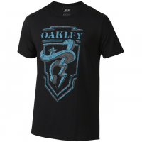 Oakley Snake Shield Tee in Jet Black