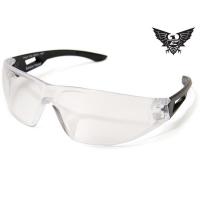 Edge Tactical Eyewear Dragon Fire - Matte Black Frame / Clear Lens