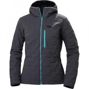 Helly Hansen Women's Lifaloft Hooded Stretch Insulator Jacket - Medium - Charcoal