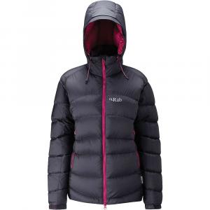 Rab Women's Ascent Jacket - L/14 - Beluga / Peony