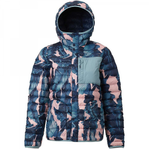 Burton Women's Aliz Evergreen Down Hooded Insulator Jacket - Small - Zolatta