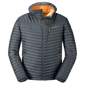 Eddie Bauer First Ascent Men's Microtherm 2.0 Stormdown Hooded Jacket - XL - Storm