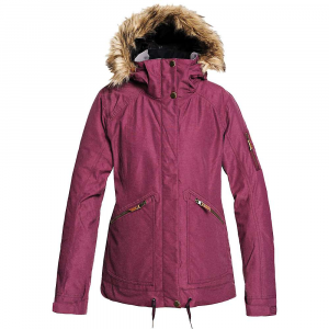 Roxy Women's Meade Jacket - Medium - Grape Wine