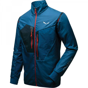 Salewa Men's Pedroc Hybrid Alpha 2/1 Jacket - Small - Poseidon / 1780