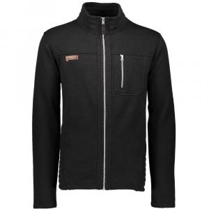 Obermeyer Men's Joshua Fleece Jacket - Medium - Black