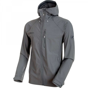 Mammut Men's Runbold Trail SO Hooded Jacket - XXL - Titanium