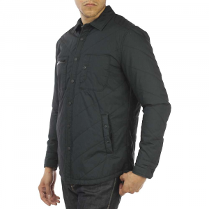 Jeremiah Men's Sage Quilt Shirt Jacket - Small - Black