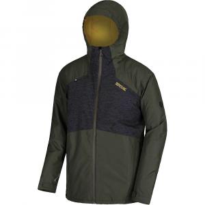Regatta Men's Garforth II Jacket - XL - Dark Khaki / Black Reflective