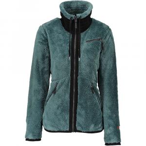 Obermeyer Women's Britt Fleece Jacket - Medium - Sage