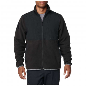 5.11 Tactical Men's Apollo Tech fleece Jacket - Small - Black thumbnail