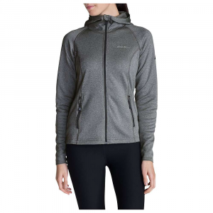 Eddie Bauer First Ascent Women's High Route Fleece Hoodie - Small - Carbon