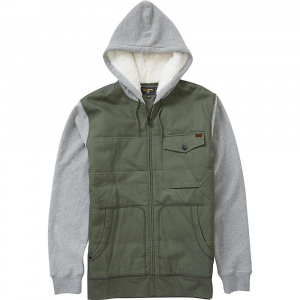 Billabong Men's Barlow Zip Hoody - Small - Military