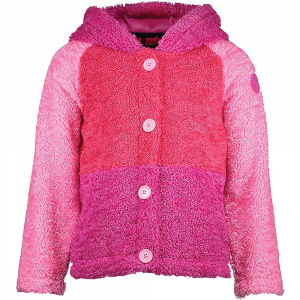Obermeyer Kid's Avenger Fleece Jacket - Small - Back To Fuchia