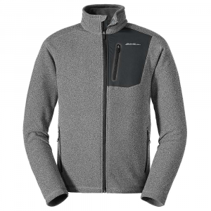 Eddie Bauer First Ascent Men's Cloud Pro Full Zip Jacket - Small - Heather Grey