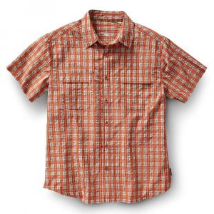 Royal Robbins Men's Diablo Plaid SS Shirt - Small - Salsa