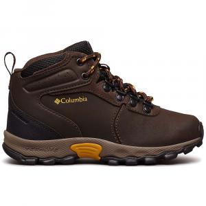 Columbia Youth Newton Ridge Boot - 3 - Cordovan / Golden Yellow