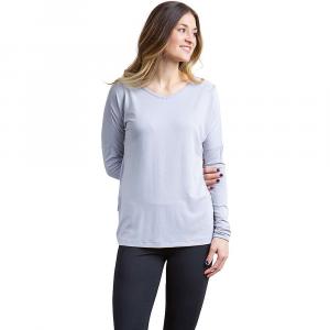 ExOfficio Women's Galiano V Neck Top - Small - Lilac Grey Heather