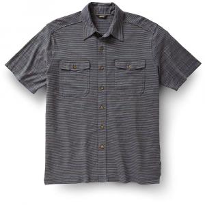 Royal Robbins Men's Breeze Thru Stripe Button Front Shirt - Small - Slate
