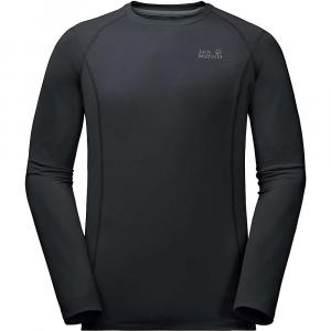 Jack Wolfskin Men's Hollow Range LS Shirt - XL - Black