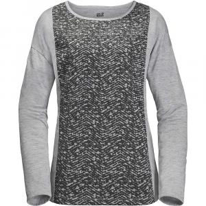 Jack Wolfskin Women's Moro Panel LS Shirt - Small - Alloy