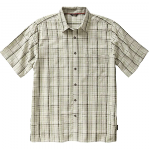 Royal Robbins Men's Pilat Plaid SS Shirt - Small - Shamrock