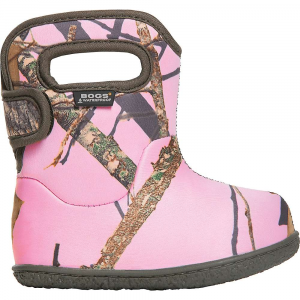 Bogs Infants' Camo Boot - 9 - Pink Mossy Oak Country