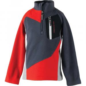 Obermeyer Boy's Pulsar Fleece Top - Small Regular - Red