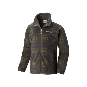 Columbia Youth Boys' Zing III Fleece Jacket - Large - Cypress Camo Plaid thumbnail