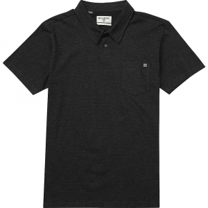 Billabong Men's Standard Issue Polo - Small - Black Heather