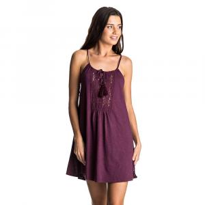 Roxy Women's Black Water Dress - Large - Grape Wine