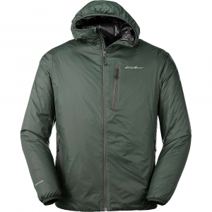 Eddie Bauer First Ascent Men's Evertherm Hooded Down Jacket - Large - Avocado