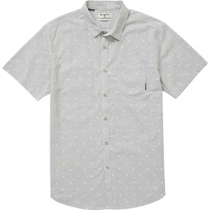 Billabong Men's Sundays Jacquard SS Shirt - Small - Grey Heather