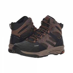 Hi-Tec Men's Wild-Fire Thermo 200 I WP Boot - 9 - Chocolate / Tan