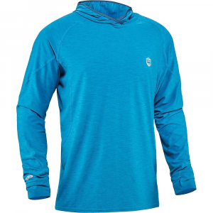 NRS Men's H2Core Silkweight Hoodie - Small - Fjord