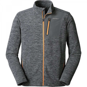 Eddie Bauer First Ascent Men's Cloud Pro Full Zip Jacket - Medium - Cinder