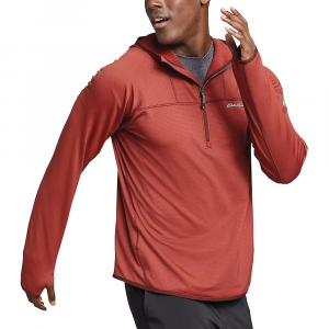Eddie Bauer First Ascent Men's LS High Route Grid Half Zip - Small - Canyon Clay