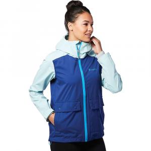 Cotopaxi Women's Parque Stretch Rain Shell Jacket - Large - Admiral / Glacier