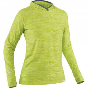 NRS Women's H2Core Silkweight Hoodie - XS - Lime