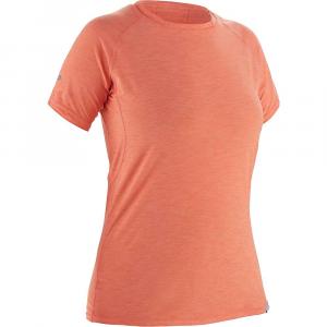 NRS Women's H2Core Silkweight SS Shirt - Medium - Cayenne