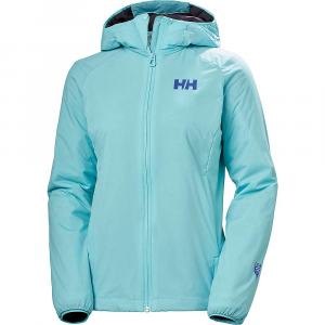 Helly Hansen Women's Odin Stretch Hooded Light Insulator Jacket - Small - Glacier Blue