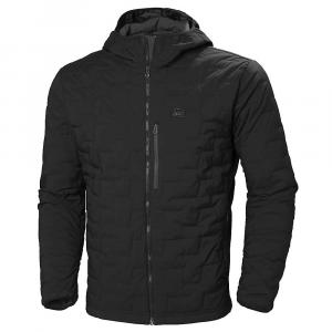 Helly Hansen Men's Lifaloft Hooded Stretch Insulator Jacket - XL - Black