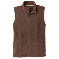 Smartwool Men's Hudson Trail Fleece Vest - Small - Bourbon Heather