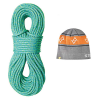 Sterling Rope Fusion Ion R 9.4mm Rope with Beanie