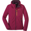 Outdoor Research Women's Ferrosi Grid Hooded Jacket - Small - Beet