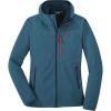 Outdoor Research Women's Ferrosi Grid Hooded Jacket - Medium - Celestial Blue